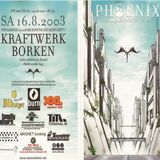Pierre @ Stammheim Phoenix Festival - Kraftwerk Borken - 16.08.2003