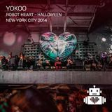 YokoO - Robot Heart - Halloween NYC 2014