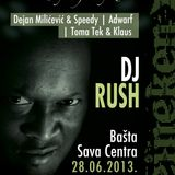 Toma Tek b2b Klaus @ Lucky Showcase with DJ RUSH, Basta Sava Centra ( 28.06.2013.)