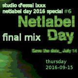 Studio d'essai lxxx – Netlabel Day 2016