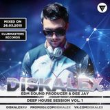 Diskalex - Deep House Session Vol.1 [Clubmasters Records]