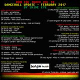 run the track vol 18... dancehall update february 2017
