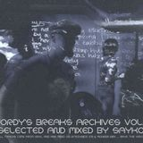Jordy's breaks archives vol.3/selected and mixed by Sayko