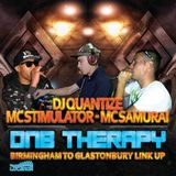 D&B Therapy From Birmingham To Glastonbury Ft. MC Stimulator & MC Samurai