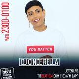 Wednesday Nights Live with @DJCindeRella 13.09.2017 23:00 - 01:00 [GMT]