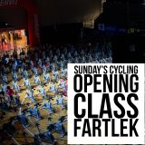 Sunday's Cycling Opening class Fartlek