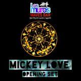 Mickey Love 2018-05-12 opening set @ Los Muros Waves Bar