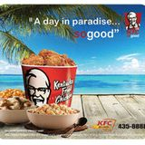 KFC SOOO GOOD CROP OVER 2014 SWEET SOCA SAMPLER