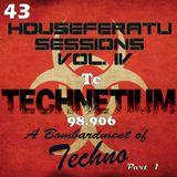 Technetium - A Bombardment of TECHNO [ Houseferatu Sessions Vol. 4 - Techno  ] May 2014