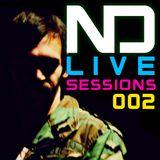 ND Live Sessions 002 ElectroLatino - Dj Nacho Donadeu
