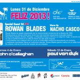 Nacho Casco @ New Year Eve 2013, La Caseta Club, Mar del Plata, Argentina, Parte 1