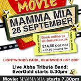 Lightwoods Park Drive-In Movie Mamma Mia 28-09-2013