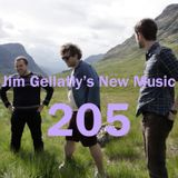 Jim Gellatly's New Music episode 205