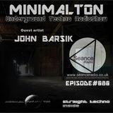 John Barsik @ Episode #080 Minimalton RadioShow at Seance Radio [UK]