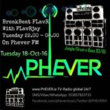 FLavRjay hosts BreakBeat FLavR on PHEVER Radio Dublin. 19-Oct-16 Jungle Vinyl Selection