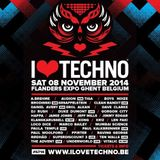 Dave Clarke - Live @ I Love Techno 2014 (Ghent, BE) - 08.11.2014
