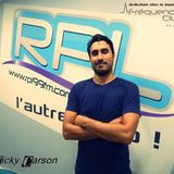 Nicky Carson live @ Frequence Club - RPL 99FM (Lille - France) 20.9.2014