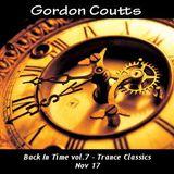 Gordon Coutts- Back In Time vol.7 (Trance Classics, Nov 17)