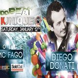 Kunique Too Beat on Radio M2O Saturday January 12th 2013 On Air Diego Donati