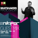 The Beatshakers Radio Show - Guest Mix by Nikifor
