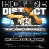 Tony Technics On House District  12/10/15