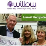 Willow Foundation Shop Hemel Interview with Emma-Lou on Radio Dacorum