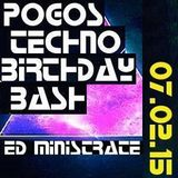 Ed Ministrate @ Pogo Pö's B-Day Bash (Liederkranz, Ulm) 2015-02-07 - Live