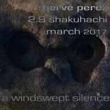 a windswept silence