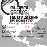 Dan Price - Global Control Episode 170 (30.07.14)