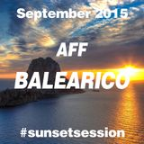 2015 OCTOBER - AFF BALEARICO Sunset Session