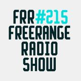 Freerange Radioshow No. 215 - December 2017 - One hour exclusive mix from Bugsy