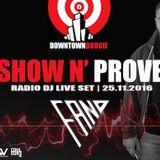 Show N' Prove (NOV 2016)