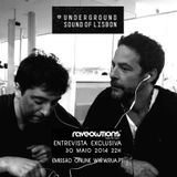 Underground Sound of Lisbon  Entrevista / Helena Isabel & Vj Zayle @ Raveolutions Radio Show