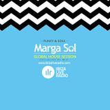 Ibiza Live Radio Dj Mix (Funky & Soul) - Global House Session with Marga Sol