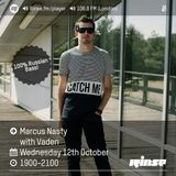 Vaden - 12.10.16 guest mix in Marcus Nasty show @ Rinse FM