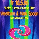 Mark Spoon @ Jubilee 3 Years Of Cosmic Club - Cosmic Club Münster - 10.05.1996
