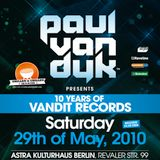 DJ Mix Competition entry for 10 Years Vandit, Berlin