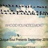 Quique Soul September 2016 ReMastering  by Agent Of Groove~