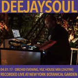 04/01/17- Deejaysoul, Live at the New York Botanical Garden's Orchid Evening