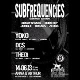 "Drum&Bass-Mix at ""Subfrequencies Summer Edition"" (14.06.2013 @ Anna&Arthur, Lüneburg)"