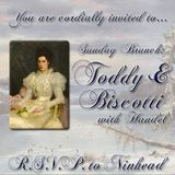 Sunday Brunch: Toddy and Biscotti with Handel