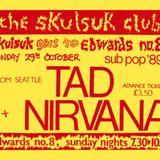 Nirvana - Birmingham Edwards No 8 -  29 - 10 - 1989