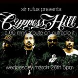 CYPRESS HILL -  A 60 MIN RADIO TRIBUTE - ON THE AIR ON CUTRADIO MARCH 26th.