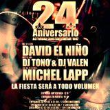 Tono & Valen - 24 ANIVERSARIO ATTICA 13-01-2012