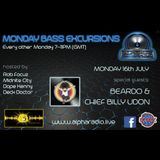Beardo - Monday Bass Excursions Radio Show DNB Mix 16/07/18