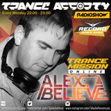 Alex BELIEVE - Trance Assorty Show on Radio Record №025