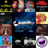 DEEPINSIDE RADIO SHOW 053 (Random Soul Artists of the week)