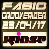 Fabio and Grooverider @ RINSE FM - 23/04/17
