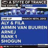 Arnej - Live @ A State of Trance 600 Mumbai (16.03.2013)