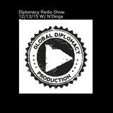 The Diplomacy Music Hour 12-13-15 Sundays 12-1pm (EST) on housestationradio.com